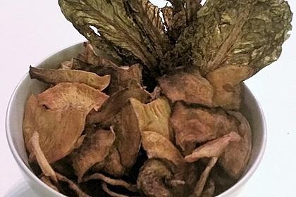 Gemüse-Chips aus Grünkohl, Rote Bete, Sellerie und Süßkartoffel 3