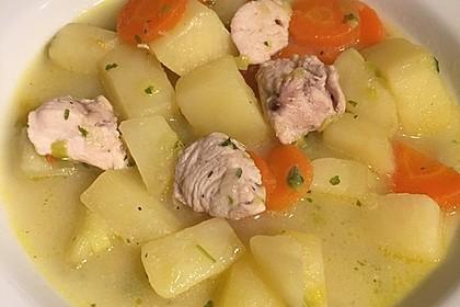 Hähncheneintopf mit Lauch und Kartoffeln 1