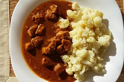 Low-Carb indisches Hühnchen-Korma 4