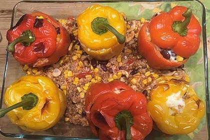 Gefüllte Paprika – Mexican Style 7