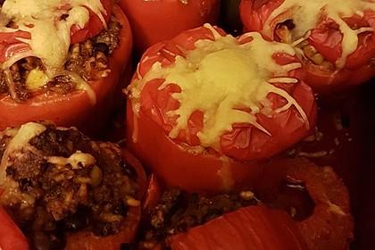 Gefüllte Paprika – Mexican Style 8