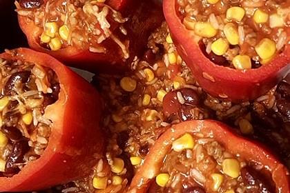 Gefüllte Paprika – Mexican Style 16