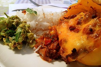Gefüllte Paprika – Mexican Style 10