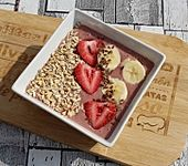 Banana-Strawberry Smoothie-Bowl (Bild)