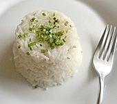 Duftreis in Kokosmilch gekocht (Bild)