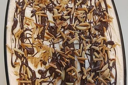 Bananensplit-Kuchen (Bild)