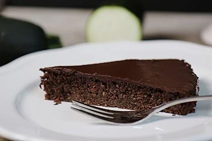 Gesunder Zucchini-Schoko-Kuchen