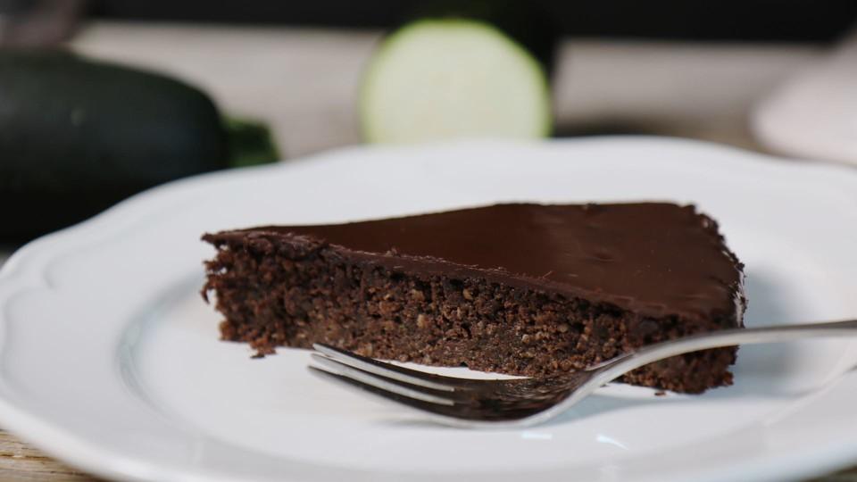 Gesunder Zucchini Schoko Kuchen Von Mrsflury Chefkoch De