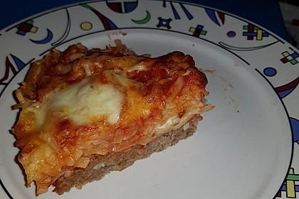 Spaghetti-Bolognese-Kuchen