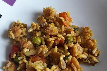 Curryreis mit Shrimps (Bild)