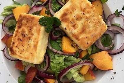 Sommerlicher Salat in Honig-Senf Dressing 1