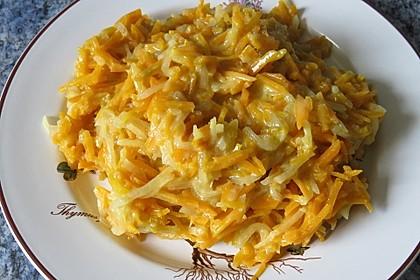 Cremig-scharfes Karotten-Rettich-Gemüse