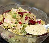 Salatdressing mit Jogurt (Bild)