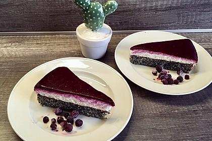 Topfen-Mohn-Torte 1