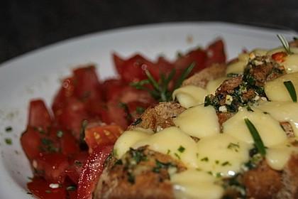 Schnelles Käse-Kräuter-Knoblauch-Brötchen