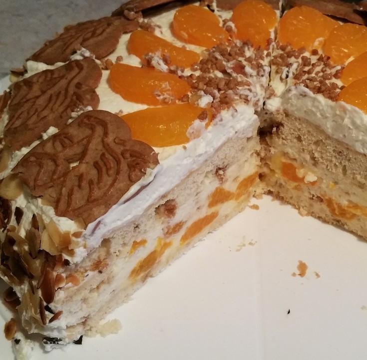 Spekulatius Mandarinen Torte Von Cherrylein Chefkoch De