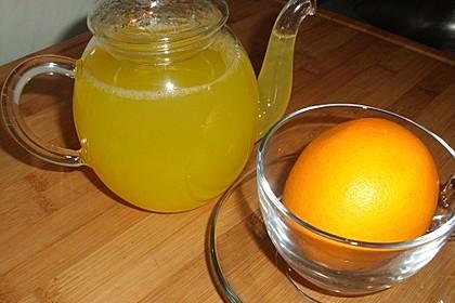 Ingwer-Orangentee, Erkältungstee 3