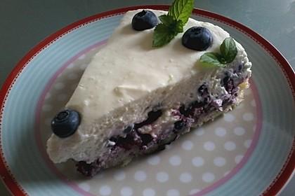 Heidelbeer-Quark-Torte (Bild)