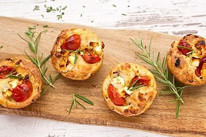Tomaten-Feta Muffins