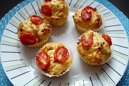 Tomaten-Feta Muffins 2