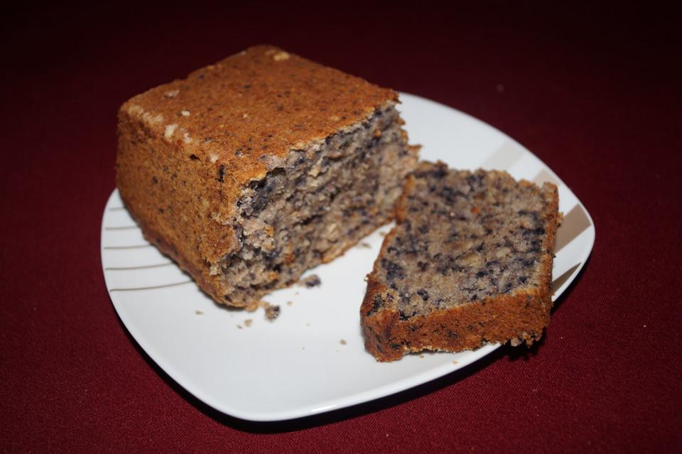 Veganer Bananen Heidelbeer Kuchen Von Laxa Chefkoch De