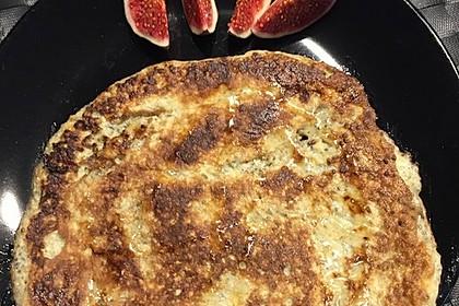 Bananen-Chia-Pancakes ohne Mehl und Zucker 1