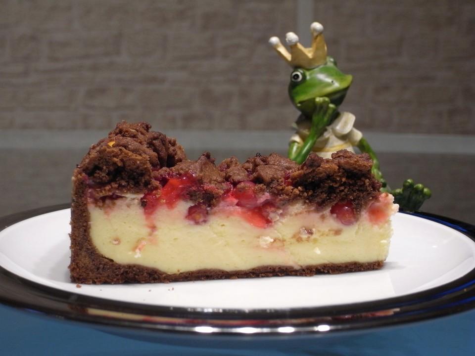 Urmelis Cremiger Johannisbeer Schokostreusel Kuchen Von Urmeli75