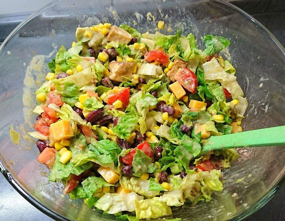 Salat Mexican Style Von Chefkoch Video Chefkoch