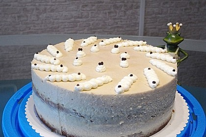 Urmelis Rhabarber-Sauerrahm-Torte
