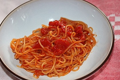 Beschwipste Spaghetti (Bild)