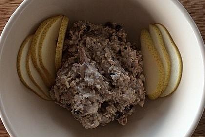 Overnight cashew oats mit Birnen und Ingwer 1
