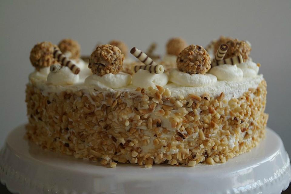 Haselnuss Sahne Torte Mit Giotto Von Sorayanova Chefkoch De