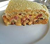 Cheeseburger-Kuchen (Bild)
