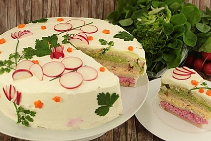 Smörgåstårta – schwedische Brottorte