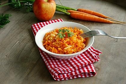 Karotten-Apfel-Salat mit Kardamom 2