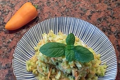 Weißkohlsalat mit Walnüssen 1