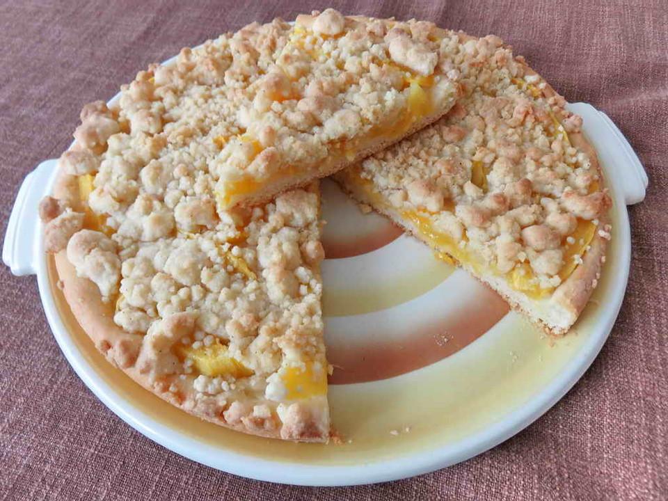Mango Vanillestreusel Kuchen Von Juulee Chefkoch De