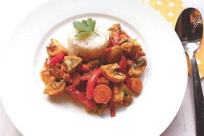 Wok-Gemüse-Kokosmilch-Curry 1