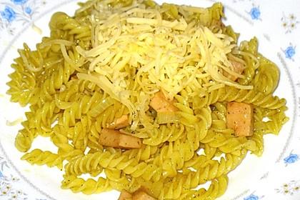 Curry-Nudeln mit Fleischwurst 1