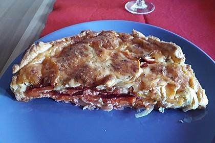 Blätterteigtarte mit Süßkartoffeln und Roter Bete 7
