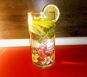 Zitronen-Basilikum-Wasser (Bild)