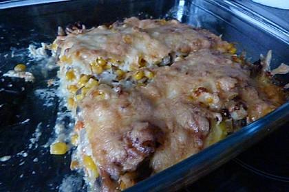 Vegetarischer Kartoffelauflauf (Bild)