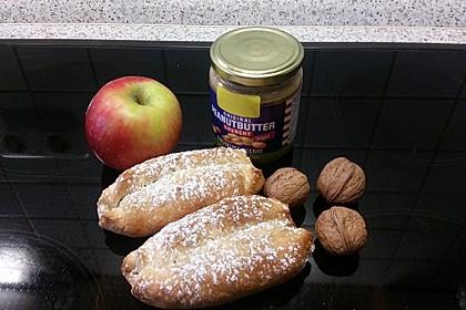 Nussiger Apfelstrudel der besonderen Art