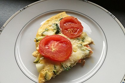 Zucchini-Tomaten-Frittata 1