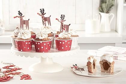 Haselnuss-Cupcakes mit nutella®
