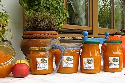 Apfel-Kürbis-Marmelade