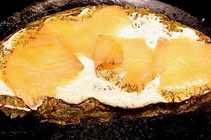 Kartoffelrösti mit Lachs und Dilldip 1