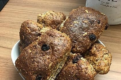 Madelines glutenfreie Müsli-Brötchen
