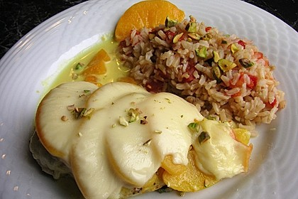 Curry Huhn mit Aprikosen und Pistazien 4