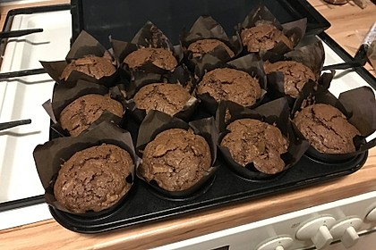 American Brownie Muffins 64